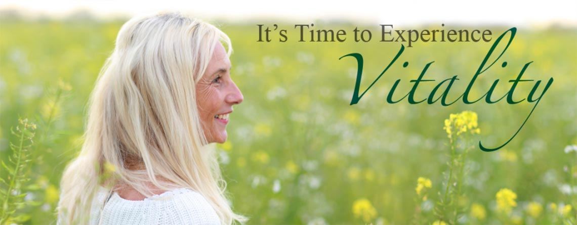 It's Time to Experience Vitality